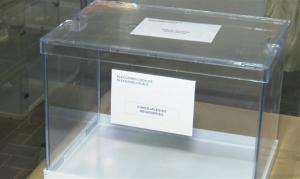 Imatge d'una urna de les Eleccions