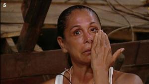 Isabel Pantoja es va quedar sorpresa i emocionada davant les paraules de les Azúcar Moreno