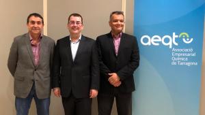 Jaume Sariol, al centre, és des d'aquest dijous el nou president de l'AEQT