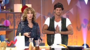 Jorge Brazález y Emma García en el momento de tensión