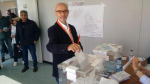 José Ibort és el cap de llista de Ciutadans a Roda de Berà.