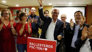 Josep Fèlix Ballesteros és el guanyador de les eleccions a la ciutat de Tarragona