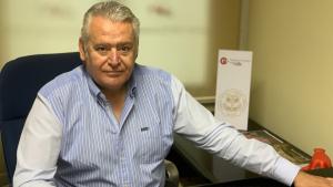 Josep M. Rovira, president de la Cambra de Comerç de Valls.