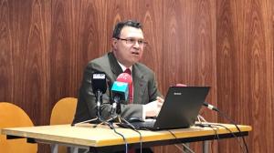 Juan Gallardo, president de la CEPTA, ha presentat les conclusions del darrer estudi aquest dimarts