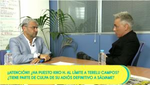 Kiko Hernández se ha sincerado con Jorge Javier Vázquez