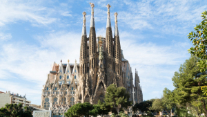 La basílica de la Sagrada Família en una imatge d'arxiu
