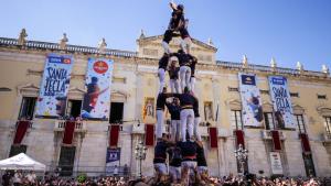 La Diada Castellera de Santa Tecla.