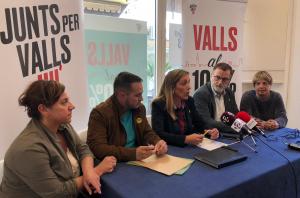 La futura alcaldessa de la ciutat ha destacat molt positivament els resultats obtinguts per a la seva candidatura i ha agraït la confiança majoritària dels vallencs al seu projecte