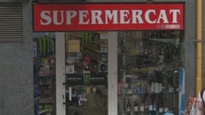 La Guàrdia Civil de Barcelona ha intervingut en un supermercat del barri de la Sagrada Família per productes caducats