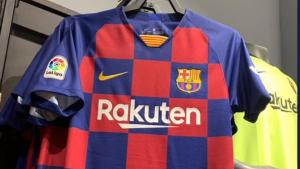 La nova samarreta del Barça sortirà a la venda al finalitzar la temporada