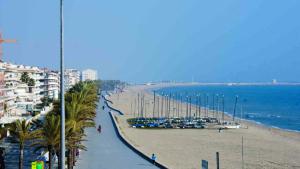 La platja de Calafell