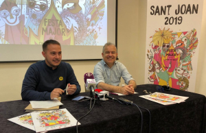 La presentació del programa d'actes ha anat a càrrec de Marc Ayala, regidor de Cultura, i Jordi Bertran, gestor cultural