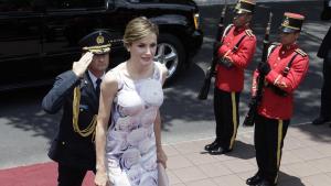 La reina Letizia, entre las mejor vestidas