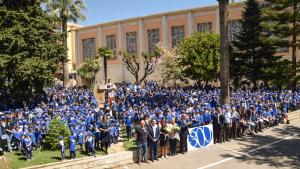La Salle de Reus amb la presència de les institucions a l'acte commemoratiu