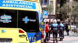 La víctima ha sido trasladada al Complejo Hospitalario de Salamanca