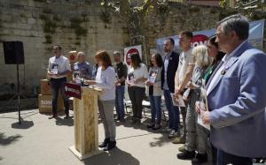 L'acte va comptaramb la participació de les 11 persones que formen part de la llista electoral