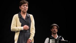 L'actriu Rosa Andreu a el drama històric de la postguerra 'Memòria de les oblidades'