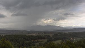 Las lluvias insistirán visitar durante el lunes el País Vasco y zonas próximas, y el noreste catalán