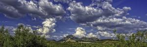 Las tardes del fin de semana estarán menos nubosas, con algunas nubes de tormenta en zonas de montaña