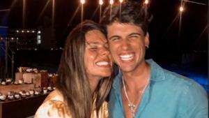 Laura y Daniel recién casados