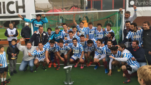 L'Egara celebra el seu 15è títol de lliga masculina