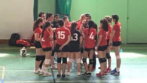 L'equip juvenil femení del CV Terrassa