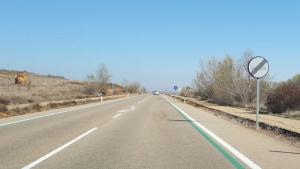 Les línies verdes són el nou mètode de la DGT per reduir l'excés de velocitat