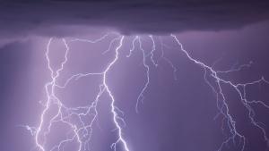 Les tempestes cauran a diversos punts divendres