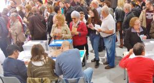 Les votacions del 28-A a Francesc Macià, Terrassa