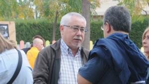 Lluís Miquel Pérez, de cara, en una imatge d'arxiu.