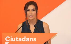 Lorena Roldán, diputada i candidata de Ciutadans, en una imatge d'arxiu.