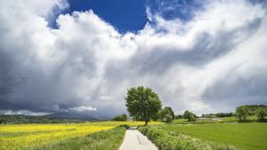 Los chubascos tormentosos pueden ser noticia en puntos del Levante español este martes