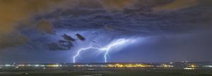 Los chubascos tormentosos se extenderán el viernes por todo el tercio norte y Baleares