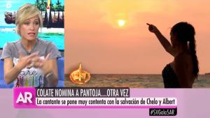Luján tiene muy clara su opinión sobre Isabel Pantoja