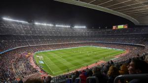Malgrat la decepció de la Champions, el Camp Nou ha viscut la conquesta d'una nova lliga aquesta temporada