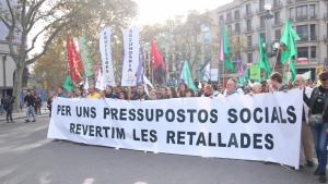 Manifestació docents