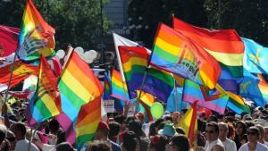 Manifestació LGBTI.