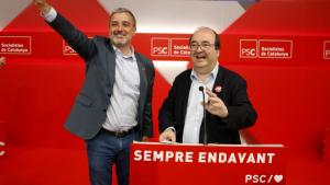 Miquel Iceta i Jaume Collboni PSC