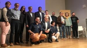 Part de l'equip que ERC presenta a Torredembarra el proper 26 de maig.