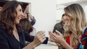 Paz Padilla i Anna Ferrer estan contentes amb l'acollida de la seva botiga