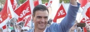 Pedro Sánchez llueix una bona imatge