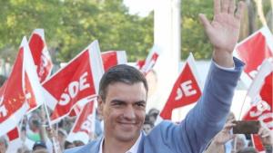 Pedro Sánchez presume de una buena imagen