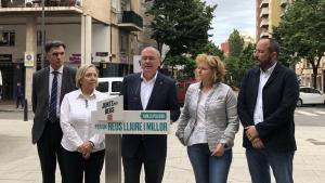 Pellicer es compromet a augmentar la presència de la Guàrdia Urbana a la ciutat