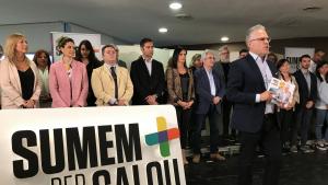 Pere Granados ha presentat els 31 membres de la llista de Sumem per Salou.