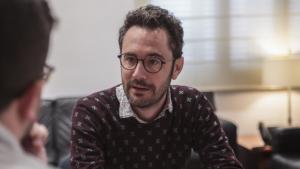 Pere Segura, durant la conversa que va mantenir amb TarragonaDigital.com.