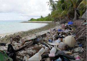Plàstics a les illes Cocos