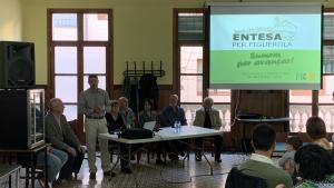 Presentació de la candidatura d'Entesa per Figuerola, al cafè de la Cooperativa.