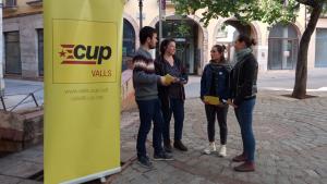 Presentació de les polítiques feministes i LGTBI de la CUP de Valls.