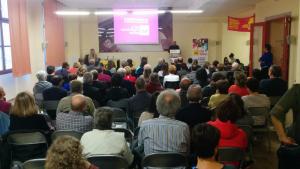 Presentació del programa electoral de la CUP d'Alcover.