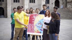 Presenten el cartell de l'edició 2019 de l'Acampada Jove a Barcelona